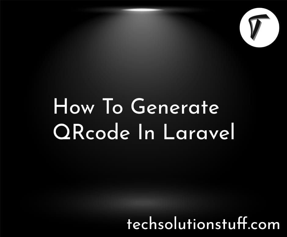 How To Generate QRcode In Laravel
